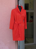 Red coat on display Royalty Free Stock Images