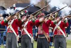 Red Coat Soldiers Royalty Free Stock Photos