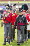 Red Coat Soldiers Royalty Free Stock Images