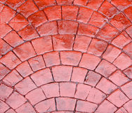 Red cobble Royalty Free Stock Photos