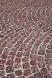Red cobblestone Royalty Free Stock Photo
