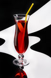 Red cocktail Stock Photo