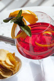 Red cocktail Stock Photography