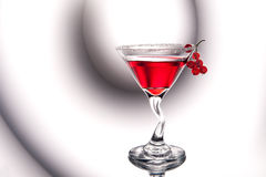 Red Cocktail Stock Image