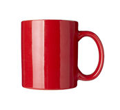 Red coffee cup Royalty Free Stock Photography