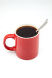 Red coffee cup Stock Photo