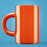 Red coffee cup Royalty Free Stock Image