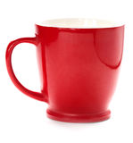 Red coffee cup. isolated Royalty Free Stock Photography