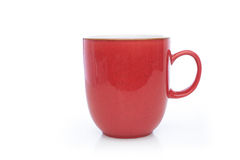 Red coffee cup Stock Images