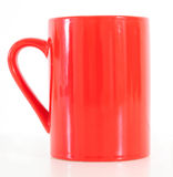 Red coffee mug Royalty Free Stock Photography