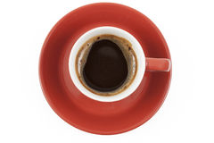 Red Coffee Mug Royalty Free Stock Image