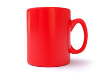 Red Coffee Mug Royalty Free Stock Photos