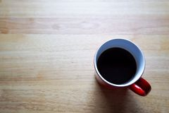 Red Coffee Mug Stock Image