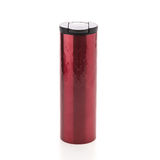Red coffee tumbler thermos Stock Photo