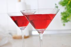 Red cokctails Royalty Free Stock Image