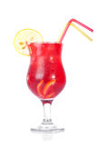 Red cold drink Stock Image