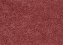 Red color artificial leather pattern. Royalty Free Stock Photo