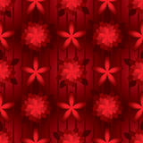 Red color background seamless pattern Royalty Free Stock Images