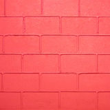 Red color brick wall Royalty Free Stock Image