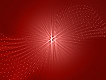 Red color burst Royalty Free Stock Image