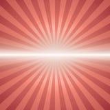 Red color burst background. stock illustration