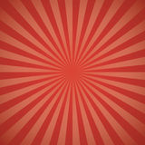 Red color burst background. Stock Photo