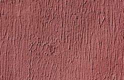 Red color cement wall surface. Stock Photo