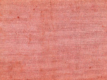 Red color dirty canvas surface. Stock Images