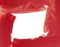 Red color lipstick stroke frame. Designed background. Red color lipstick stroke frame. Designed background Stock Photos