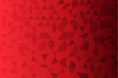 Red color low poly background.  royalty free illustration