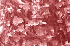 Red color metal plate pattern. Royalty Free Stock Photo