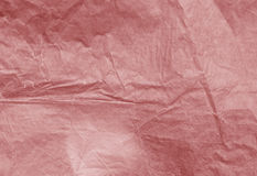 Red color paper surface. Royalty Free Stock Photography