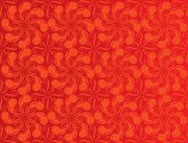 Red color pattern design stock illustration