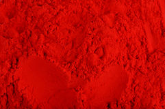 Red color Powder Stock Images