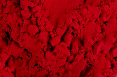 Red color Powder Stock Photography