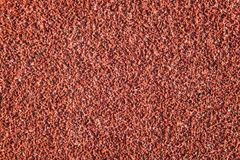 Red Color Rubber Surface or Running Track Texture Stock Photos