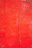 Red Color wood texture Stock Photography