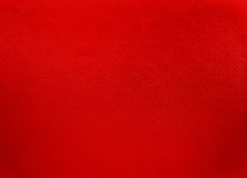 Red colored leather texture background Stock Image