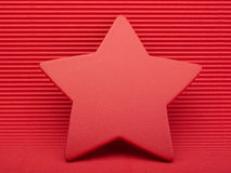 Red colorful asterisk. Stock Photos