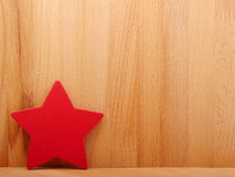 Red colorful asterisk. Royalty Free Stock Images