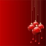 Red colors Christmas Stock Photos