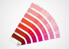 Red colors guide Stock Photos