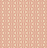 Red Colors Wave Pattern. Korean traditional Pattern Design Serie Royalty Free Stock Photography