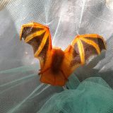 Red colour bat stock images