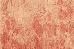 Red colour paint concrete background painted wall texture. Red colour paint concrete background painted wall abstract texture stock images