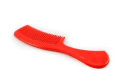Red comb hair Stock Photos