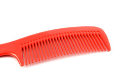 Red comb hair Royalty Free Stock Image