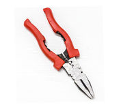 Red Combination Pliers Royalty Free Stock Image