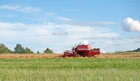 Red combine Royalty Free Stock Photos