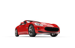 Red Concept Car Royalty Free Stock Image